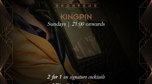 Kingpin Sunday event at Skorpeus Dubai