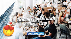 There is a New Rooftop Brunch with a View in Dubai at This Venue