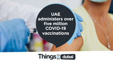 UAE administered over five million doses of the COVID-19 vaccine