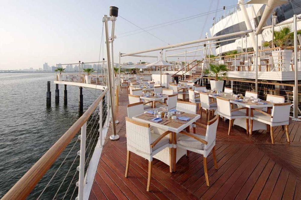 Boardwalk Restaurant in Dubai Creek - Lounge Bar | Things To Do Dubai