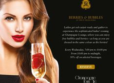 Bar Champagne Lounge Dubai Picture