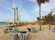Beach Shimmers Dubai Picture