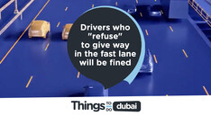 "Drivers who ""refuse"" to give way in the fast lane will be fined"