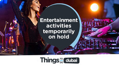 Entertainment activities temporarily on hold due to an increase in violations