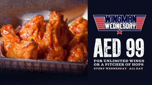 Wingman Wednesday event at Perry & Blackwelder Dubai