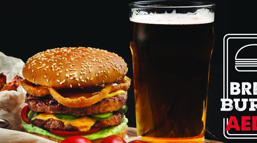 Brew & Burger event at The Red Lion