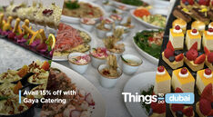 Avail 15% off on daily meals with Gaya Catering UAE