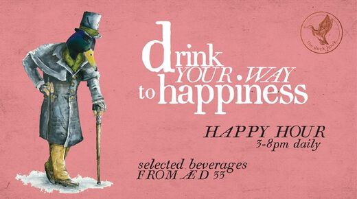 Happy Hours! event at The Duck Hook Dubai