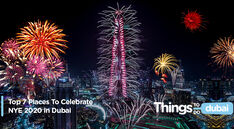 Top 7 Places To Celebrate NYE 2020 in Dubai