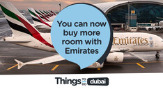 You can now buy more room when you fly with Emirates