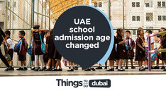 UAE school admission age changed