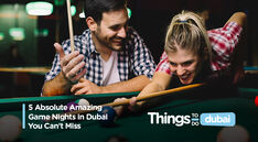 5 Absolute Amazing Game Nights in Dubai You Can't Miss